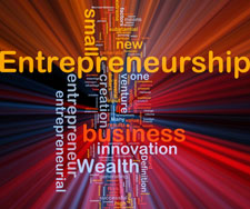entrepreneurship word graphic