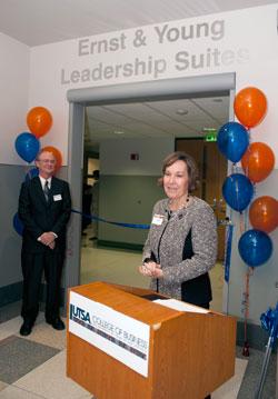 Ernst & Young Leadership Suites dedication