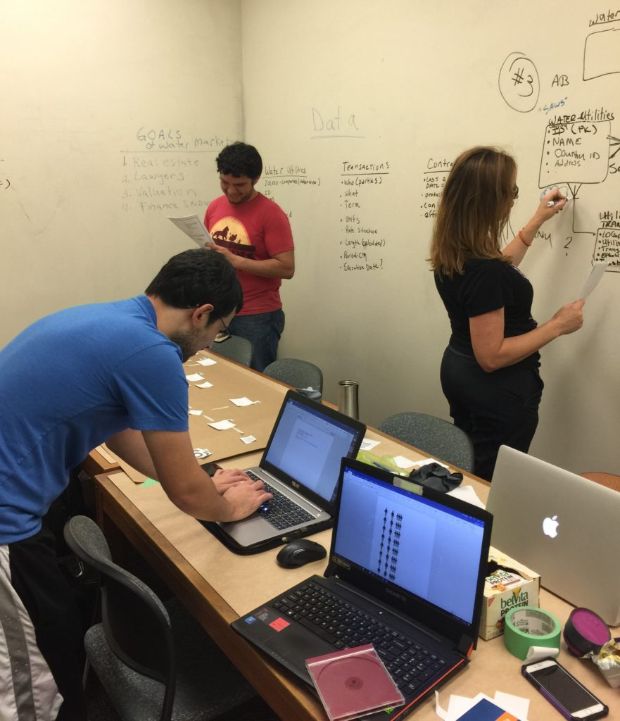 UTSA College of Business Masters in Data Analytics Students
