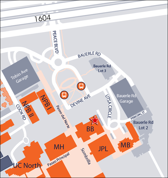 Maps Amp Directions Utsa College Of Business