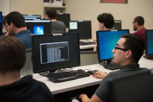 College computer laboratory