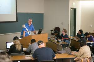 Rick Utecht teaching