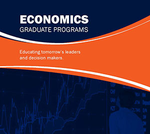 UTSA Master of Arts in Economics Brochure