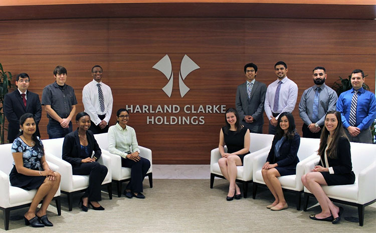 Harland Clarke Interns