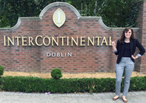 Montana Meeker interning in Ireland