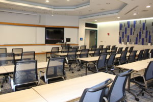 Multipurpose room in the Center for Professional Excellence