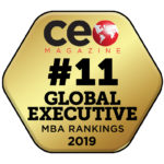 EMBA ranked #11 in 2019 by CEO Magazine