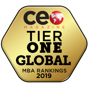 CEO Magazine Tier One MBA ranking