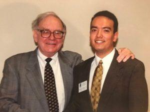 Lorenzo Garza with Warren Buffett