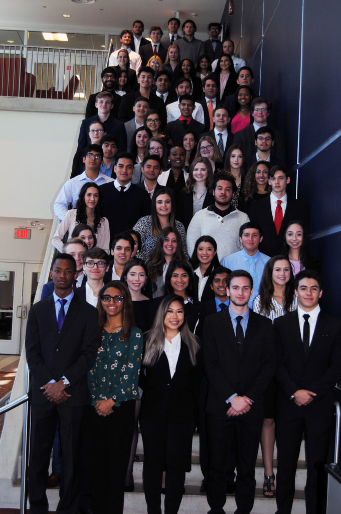 Business Honors Induction