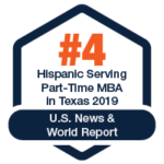 Hispanic Serving Institution -#4 in Texas US News and World Report