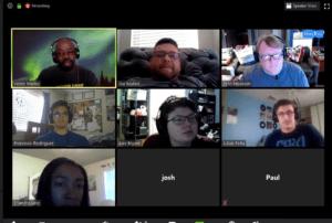 CyberPatriot training participants
