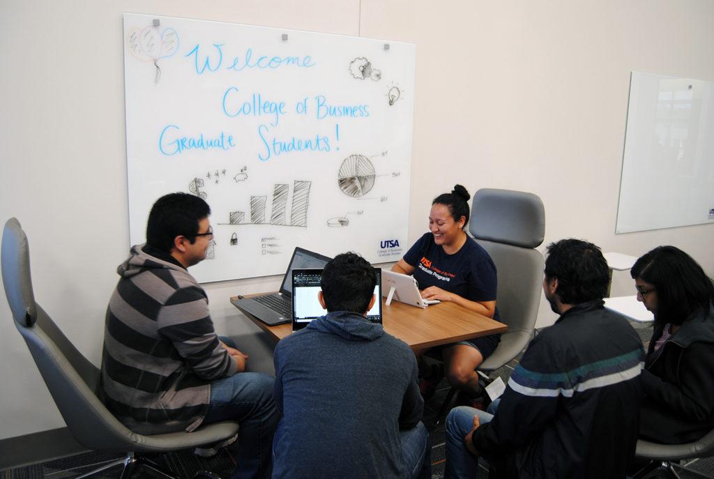 UTSA College of Business Graduate Student Lounge