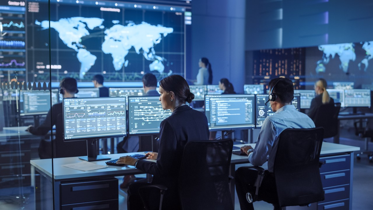 Image of security operations center