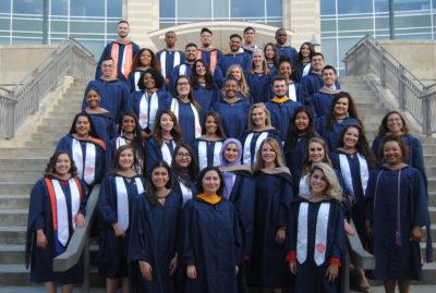 M.S. Business program graduates